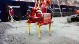 preview picture of video 'VIMATEK VIBRATORS DAM EQUIPMENTS SLUMP LOW CONCRETE'