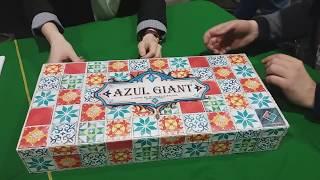 Распаковка гигантского АЗУЛ / GIANT AZUL unboxing