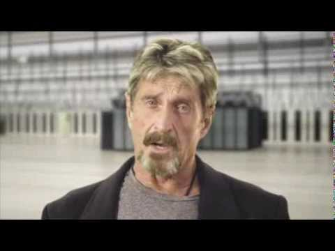 Here's John McAfee In Another Bizarre YouTube Video