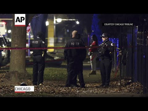 Over a dozen shot at Chicago memorial for victim of gun violence