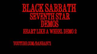 "Black Sabbath ""Heart Like A Wheel"" Demo #2 Seventh Star"