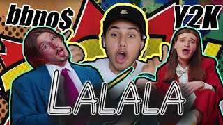 Y2K, Bbno$   Lalala (OFFICIAL MUSIC VIDEO) | REACTION!!!