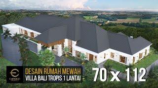Video Desain Rumah Villa Bali 1 Lantai Mr. D di  Bukittinggi, Sumatera Barat