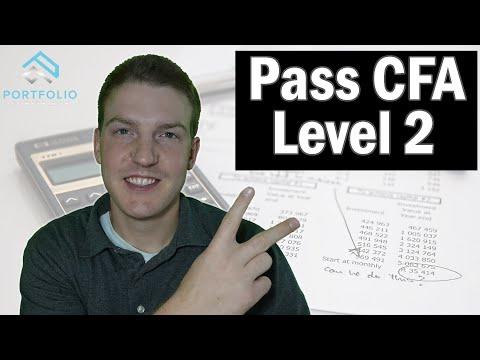 How to Pass the CFA Level 2 Exam - YouTube