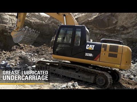 323D3 Hydraulic Excavator