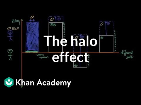 Social perception - The Halo Effect (video) | Khan Academy