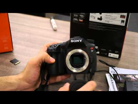 Sony SLT A77V and DT 16 -105mm α Lens Alpha - Unboxing and Hands On - iGyaan  (DSLR)