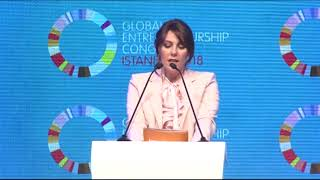 "Hanzade Doğan Boyner GEC18IST ""Digital Revolution and Social Impact"" Konuşması"