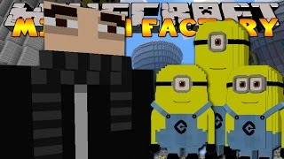 Minecraft School : VISITING THE MINIONS FACTORY WITH GRU