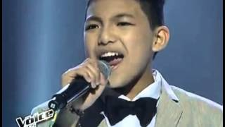 The Voice Kids Philippines Semi Finals - Darren Espanto 'One Moment In Time'