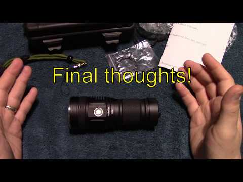 Haikelite MT02 Flashlight Review!