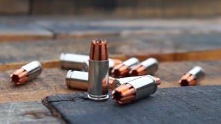 R.I.P. round tested in wood, drywall, cinder blocks, ballistic gel...