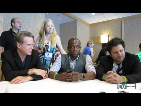 Psych Season 8: Cary Elwes, Dule Hill & James Roday Interview