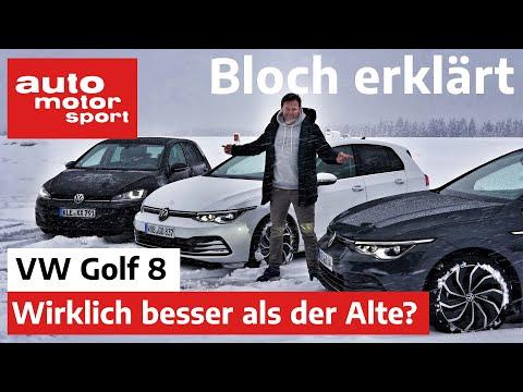 Wirklich besser als der Alte? VW Golf 8 TDI & eTSI im Test - Bloch erklärt #87 | auto motor & sport