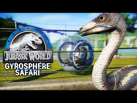 A PARK-WIDE GYROSPHERE SAFARI! | Gyrosphere Safari Park (Jurassic World: Evolution)