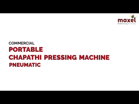 LEP183 Commercial Portable Pneumatic Chapati Pressing Machine