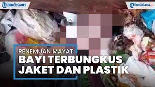 Sesosok Mayat Bayi Terbungkus Jaket & Plastik Ditemukan di Cilodong Depok, Diduga Belum Lama Dibuang