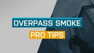 CS:GO - ProTips: Overpass - B Site Heaven Smoke