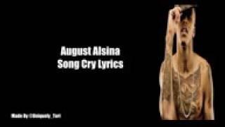 August alsina_song cry lyrics