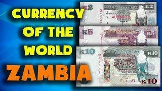 Currency of the world - Zambia. Zambian kwacha. Exchange rates Zambia.Zambian banknotes and coins