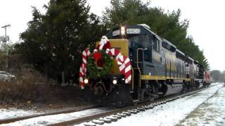 preview picture of video '2013 CSAO Santa Train in Freehold, NJ'