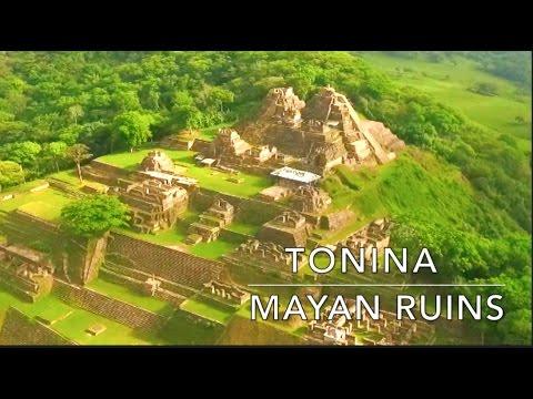 TONINA MAYAN RUINS – DRONE FOOTAGE