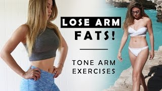 How To Lose Arm Fat | Toned Arms Workout by Chloe Ting