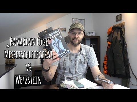 Kalte Waffen: Bavarian Edge Messerschärfer vs Wetzstein -  Let's Shoot #149