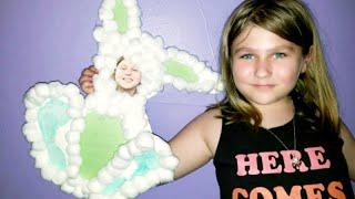 Footprint Bunnies | Easter Crafts For Kids