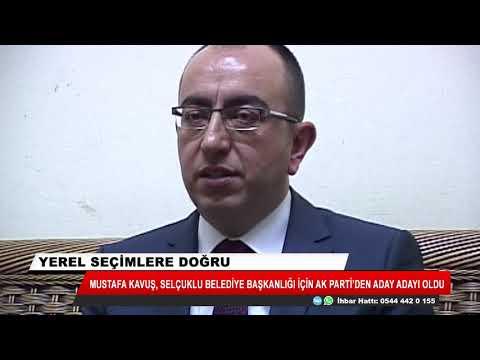 Mustafa Kavuş Selçuklu Belediye Başkanlığı için Ak Parti'den aday adayı oldu