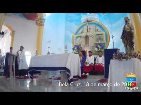 Missa em Bela Cruz no quinto domingo da Quaresma