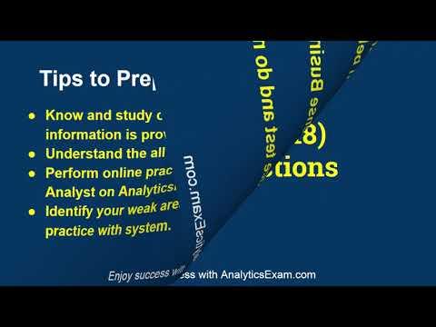 Preparation Tips for Qlik Sense Business Analyst QSBA2019 ...