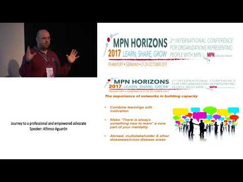 Journey to a Professional and Empowered Advocate MPN Horizons 2017