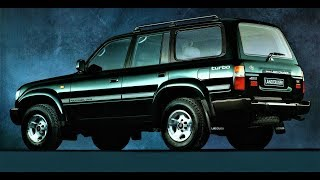 Toyota Land Cruiser 80 Надежный ТАНК !