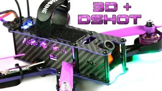 Wizard X220 - How to setup Dshot and 3D (without losing a finger)+ AKK CA20 cam colour gain