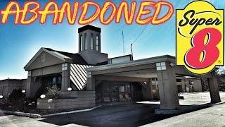 ABANDONED Super 8 Hotel - Drug Paraphernalia Found Inside!