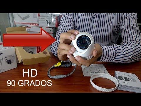 Cámaras de Seguridad Hikvision 2019 - 4 Cámaras más DVR (grabador) por $142 - 2 Años de Garantía.✅