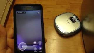 Cleaning with Haier Xshuai C3 Smart Robot Vacuum Cleaner
