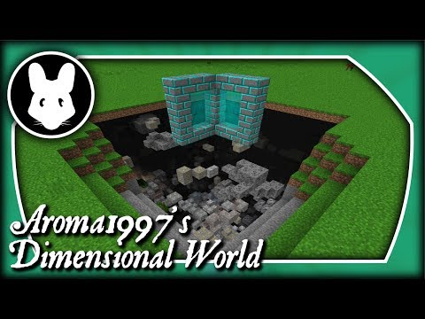Aroma1997's Dimensional World: Minecraft 1.12 and older!