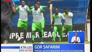 Mabingwa wa ligi ya humu nchini Gor Mahia kuelekea Afrika kusini kuchuana na Supersport United