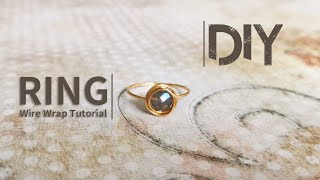 Ring / Wire Wrap Ring Tutorial / DIY Accessories