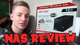 Ein NAS für jedermann - Buffalo Linkstation 520D UNBOXING + REVIEW