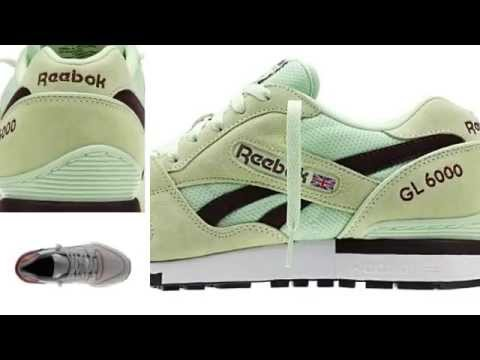 Customizable Men's Reebok GL 6000 Classic Shoes Sneakers - boxwod