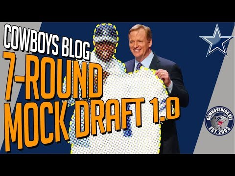 Dallas Cowboys 7-Round Mock Draft | Cowboys Mock Draft 2019