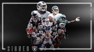 Raiders 2020 Free Agency Class | Full Highlights | Las Vegas Raiders