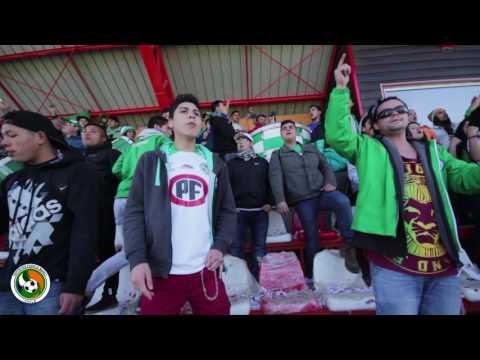 """""""Banderazo Los del Sur Previo 2do Partivo Deportes Puerto Montt v/s Everton"""" Barra: Los del Sur • Club: Deportes Puerto Montt"""