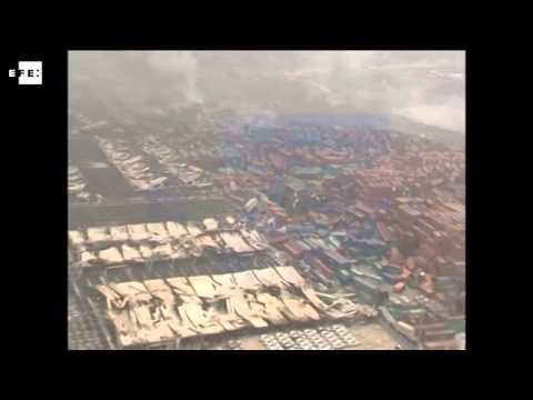 En China continúa la tragedia por explosiones de químicos