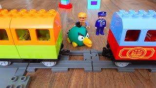 Поезда Мультики про Паровозики Пассажиры Город машинок 258 серия Мультики для детей про игрушки