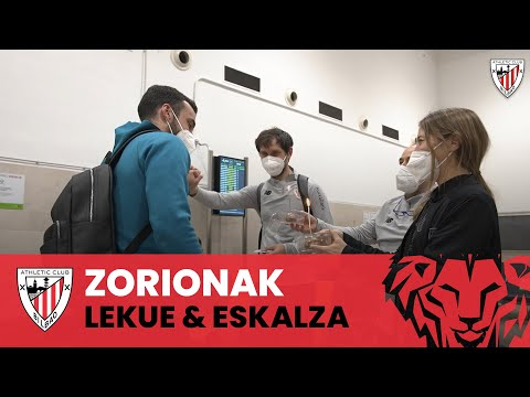 Happy birthday Lekue & Eskalza I Seville Airport I Sevilla FC 0-1 Athletic Club