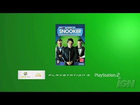 Видео № 0 из игры World Snooker Championship 2007 (Б/У) [X360]